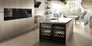 vinotecas en una cocina