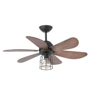 ventilador de techo marrón