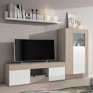 mueble de televisión fijo