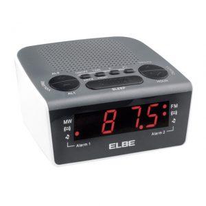 radio despertador con ajustes