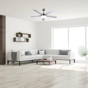ventilador de techo en salón de casa