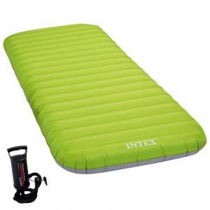 colchón hinchable de camping