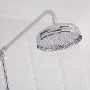 cabezal de una columna de ducha