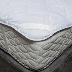 esquina de un cubre colchón