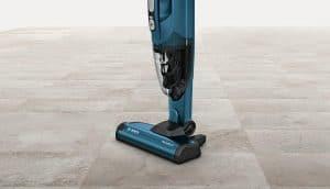 aspiradora escoba azul