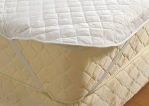 cubre colchón transpirable