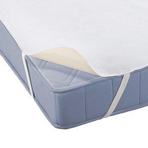 cubre colchón sobre un colchón