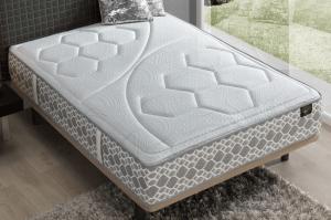 colchón con somier