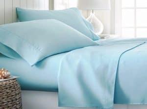 sábana azul