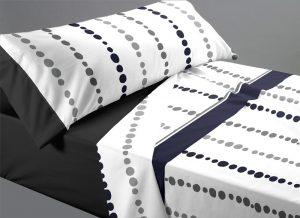 sábana con puntos
