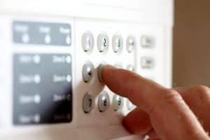 alarma con dígitos