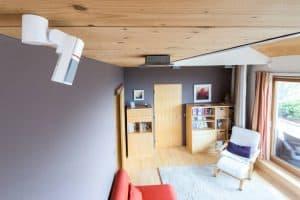 detector de movimiento en el techo