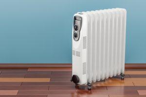 radiador eléctrico sencillo