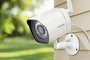 cámara de vigilancia compacta