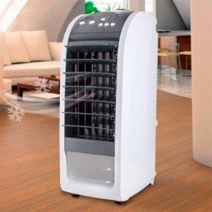 Climatizador portátil en marcha