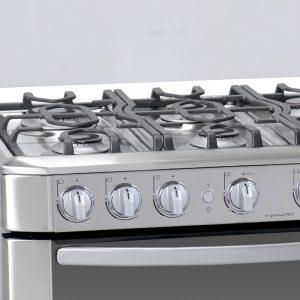 fogones de una cocinas de gas