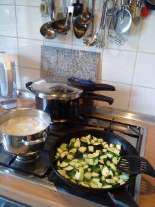 cocinar con cocinas de gas