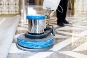 pulidora de suelos azul