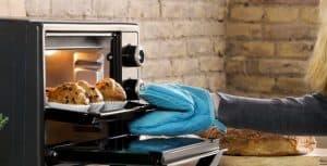 magdalenas en un mini horno