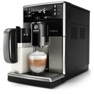 cafetera con leche