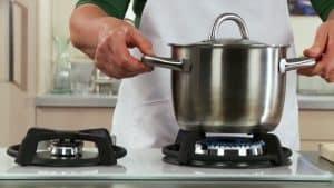 cocinar en una cocinas de gas