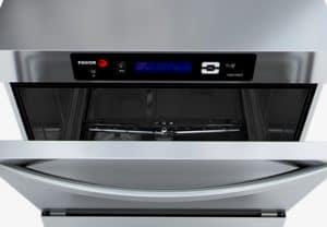 panel de control del lavavajillas