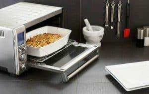 cocinar lasaña en un mini horno