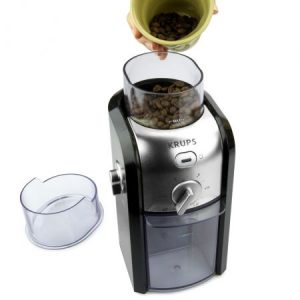 molinillo de café con café