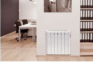 radiador eléctrico blanco
