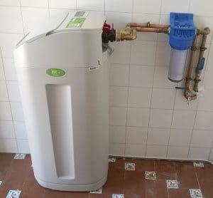 descalcificador de agua en casa