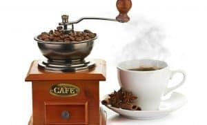 molinillo de café antiguo