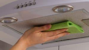 limpiar una campana extractora
