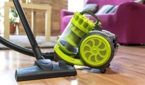 aspirador sin bolsa verde