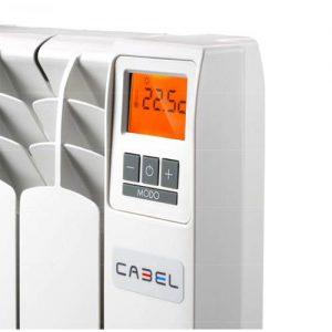 panel de un radiador eléctrico