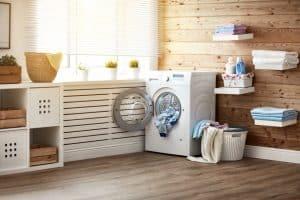secadora en una habitación
