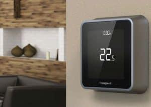 termostato de ambiente moderno