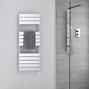 toallero eléctrico metálico