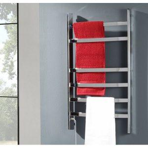 toallero eléctrico compacto