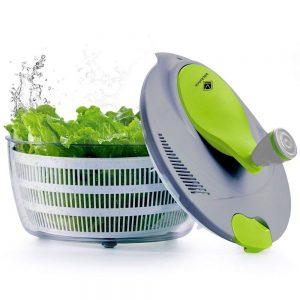 centrifugadora de ensalada manual