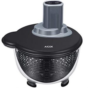 centrifugadora de ensalada eléctrica