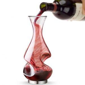 decantador de vino de diseño