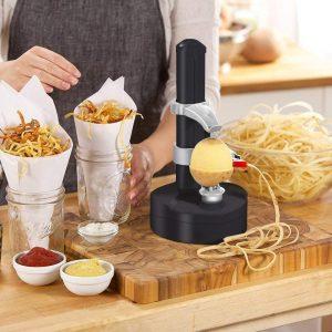 pelador eléctrico para hacer patatas chips
