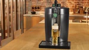 tirador de cerveza heineken