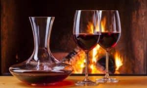 decantador de vino de calidad