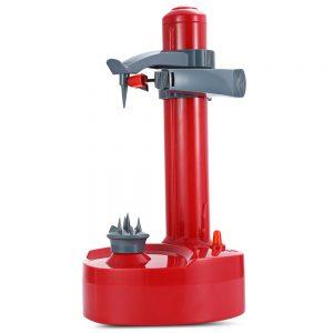 pelador eléctrico rojo