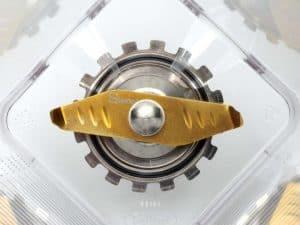 cuchillas de una batidora de vaso