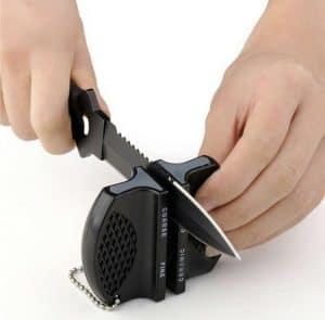 afilador de cuchillos pequeño