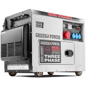 generador eléctrico con ruedas