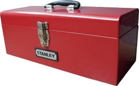 caja de herramientas de metal