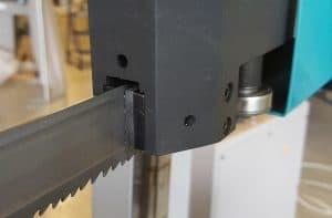hoja de una sierra de cinta